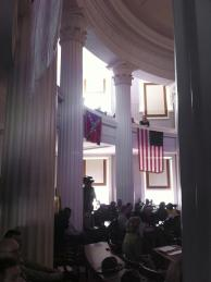 Confederate flag at old N.C. State Capitol