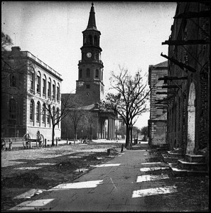 St. Michael's Church, Charleston, South Carolina, 1865