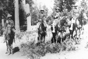 Buffalo Soldiers from the 24th Infantry at Yosemite (1899)