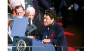 Maya Angelou reads her inaugural poem, January 20, 1993